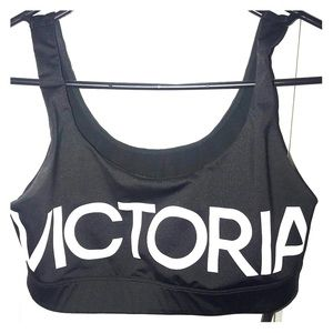 VICTORIA SECRET Sports Bra! Scoop front and back!